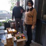 Predaja meda i propolisa skupljenog za pomoć u borbi protiv COVID-19 (korone)