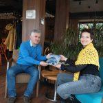 Danas smo imali veoma zanimljiv sastanak sa Christinom Czettl – potpredsednicom IWC (Međunarodni Klub Žena Beograda)